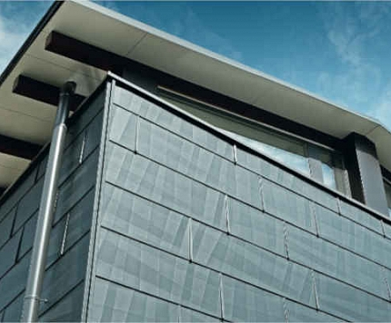 Mūsdienīgi PREFA alumīnija jumta segumi un fasāžu paneļi