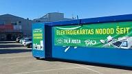 Elektrosestdienu ietvaros savāktas un pārstrādei nogādātas 32,52 tonnas nolietoto elektroiekārtu