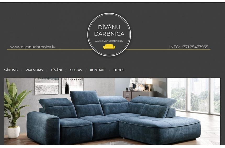 Dīvāni jebkuram klientam un interjeram