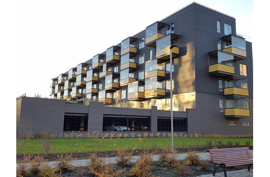 """Projekta """"Skanstes parks"""" ēka uzvar Energoefektīvākās ēkas konkursā"""