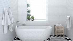 Kā atsvaidzināt vannasistabas interjeru vienā dienā? Iesaka interjera dizainers