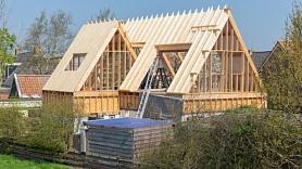 Pētījums:Latvijā arvien biežāk tiek būvētas koka mājas