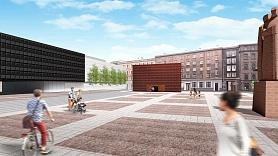 Tuvāko mēnešu laikā uzsāks Strēlnieku laukuma seguma atjaunošanu Rīgā