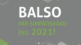 """Aicina iedzīvotājus balsot par sev tīkamāko ēku konkursā """"Energoefektīvākā ēka Latvijā 2021"""""""
