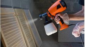 Kā izvēlēties un kādos darbos noderēs krāsu pulverizators?