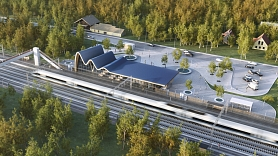 """""""Rail Baltica"""" reģionālo staciju nosaukumu izvēlē iesaistījušies 7 000 Latvijas iedzīvotāju"""