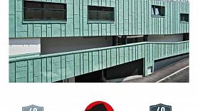 Patina Grün P.10 - alumīnija jumts imitē patinēti zaļu kapara jumta toni!
