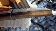 Kādi ir riski, ja sniegs netiek tīrīts no jumtiem?