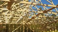 Jumta konstrukcijas – jumta spāres vai koka kopnes?