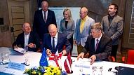 Ventspils.Svinīgi atklāta ūdenssaimniecības attīstības projekta VI kārta