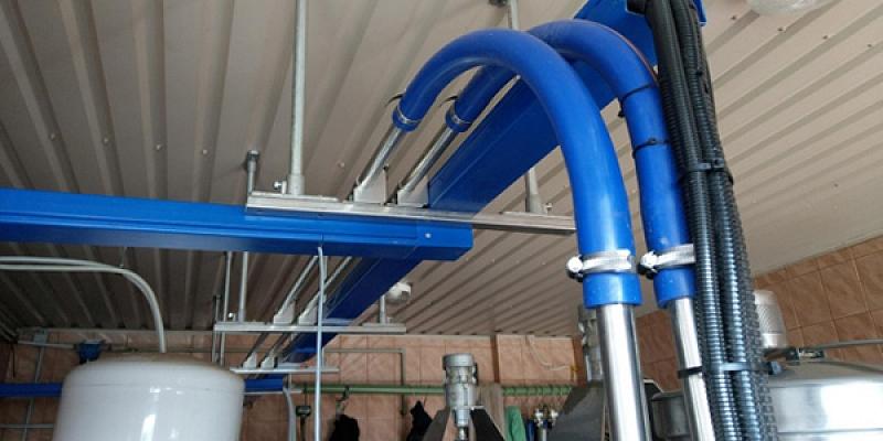 SORMEKS uzstāda ventilācijas sistēmas dzīvnieku fermās, kas ražotas Dānijā