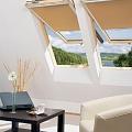 Atverami jumta logi