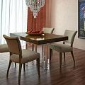 Virtuves galdi un krēsli
