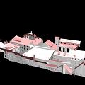 Latīņu kvartāls. 3D uzmērīšana