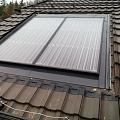 Saules baterijas iestrāde dakstiņu jumtā   SIA ABC JUMTS