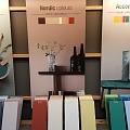 Flugger krāsas Nordic colours paraugi veikalā Profcentrs