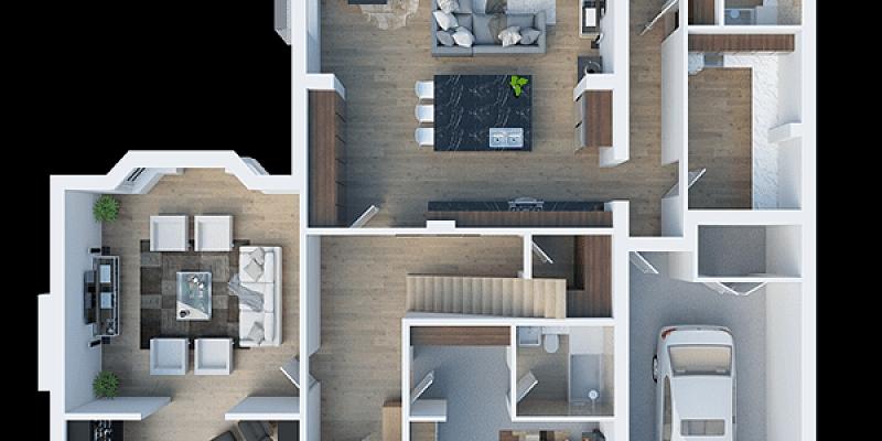 Individuālā ēku, māju projekta izstrāde