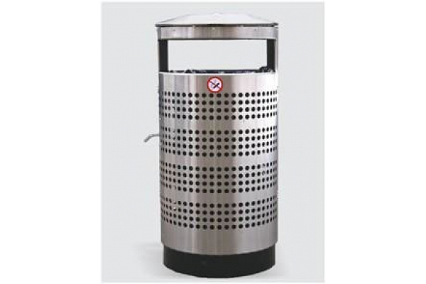Lielas atkritumu urnas